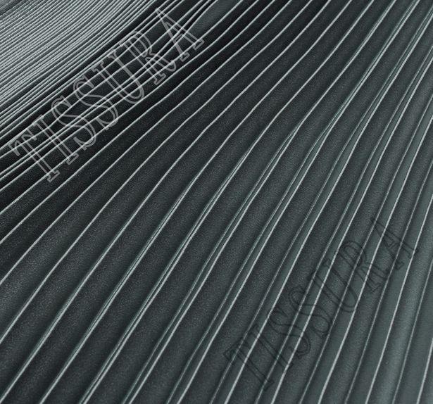 Плиссированный фрагмент «полусолнце» из благородного атласа #1