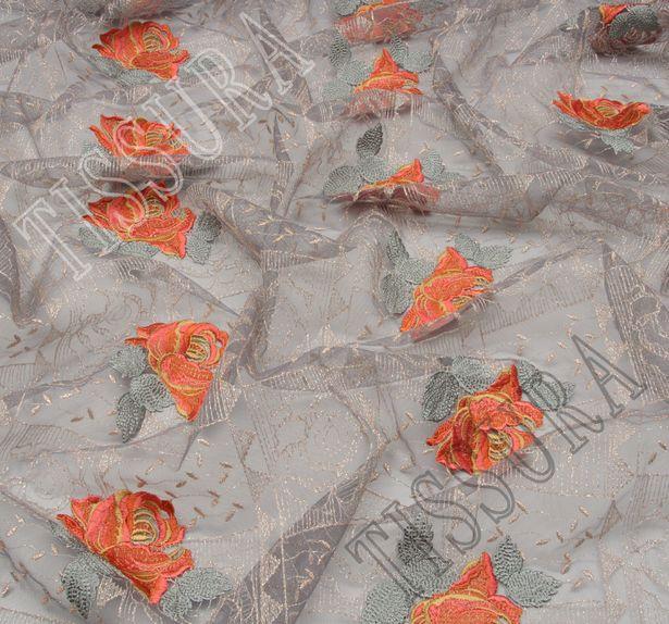 Сетка с вышивкой #4