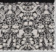 Ткань с вышивкой #2