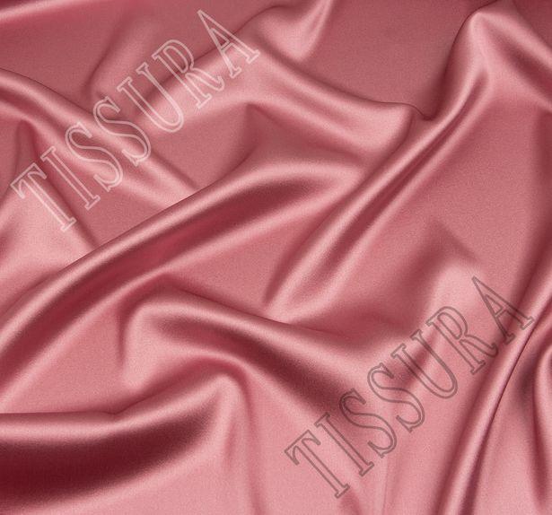 Атлас-стрейч розового оттенка #1
