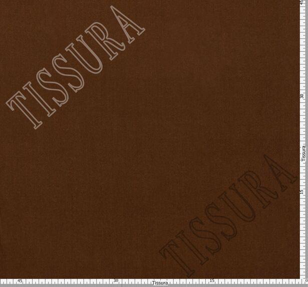 Французский шелковый бархат «Империя» светло-коричневого цвета #2