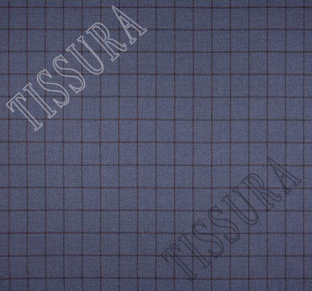Костюмная ткань из шерсти с добавлением шелка #2