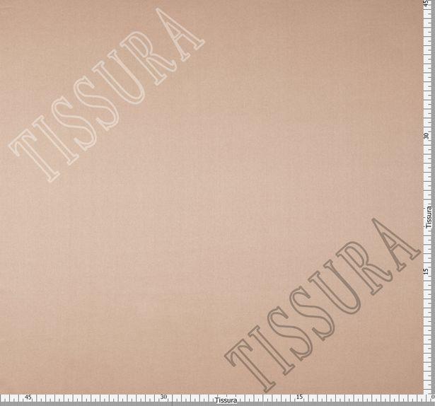 Итальянский атлас стрейч светло-персикового оттенка из шелка с добавлением эластана #2